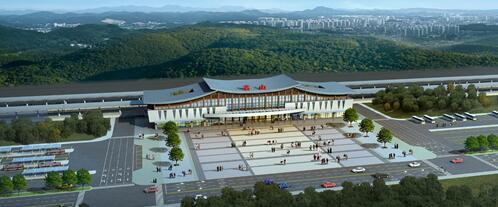 川藏铁路雅安、名山火车站项目开工建设