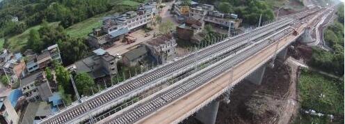 你们关心的川藏铁路成雅段现在是这个样子