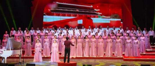 市关工委合唱团:发挥余热 用歌声点燃梦想