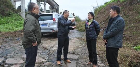 省水利厅党组成员、机关党委书记赵斌调研铜头引水工程建设情况