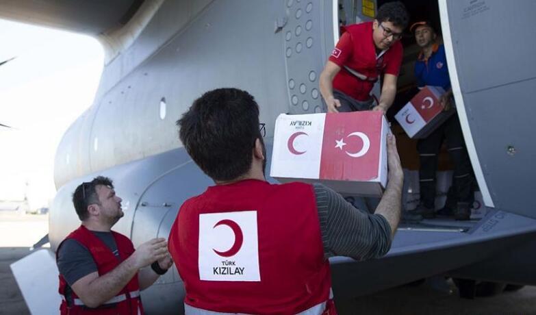 """莫桑比克遭强热带气旋""""伊代""""袭击 土耳其提供人道主义援助"""