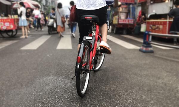 初体验雅安街头共享单车!