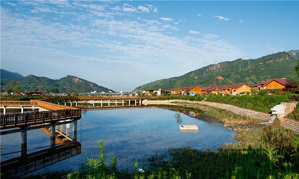 端午小长假,带着丈母娘和家人到芦山县龙门古镇景区吧!