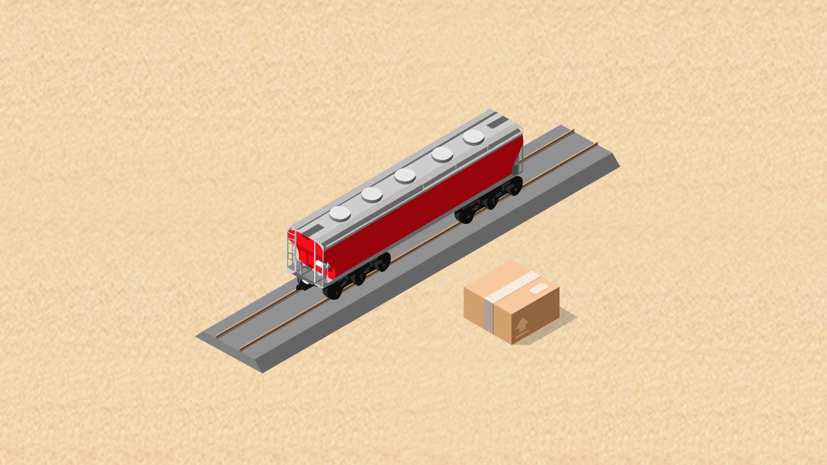 您的快递正在成雅铁路上,请注意查收!