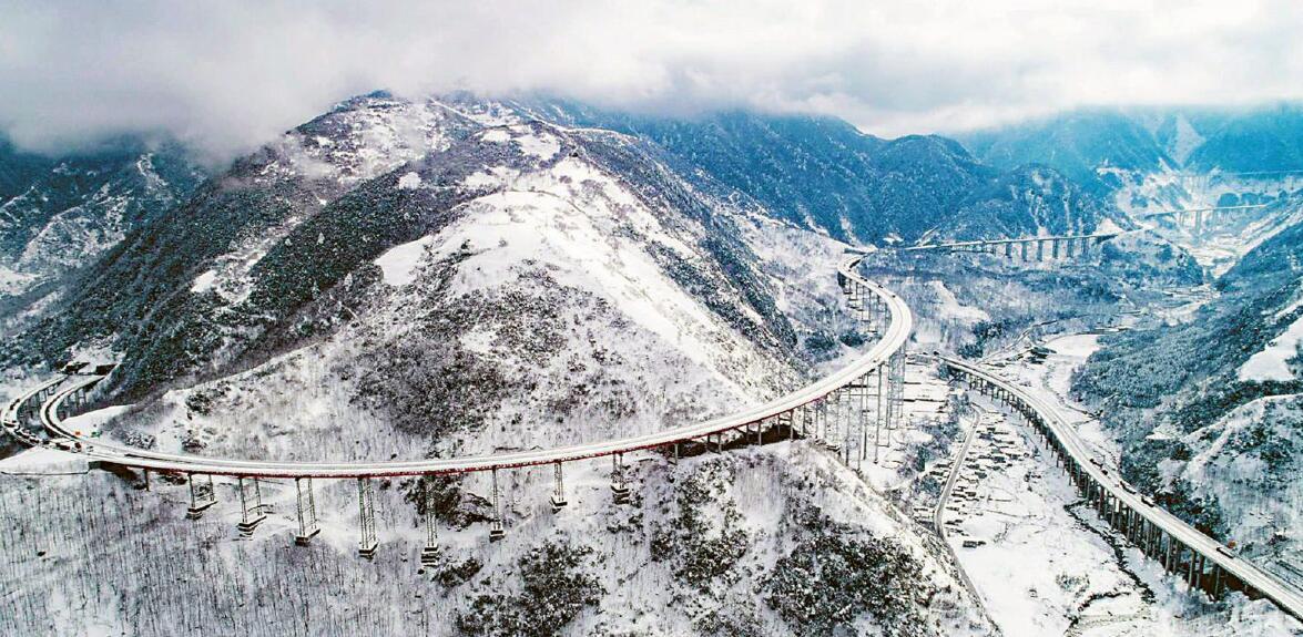冬季到四川来看雪