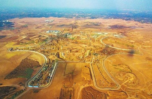 十年磨一剑 神鸟驮日展翅欲飞——影像记录成都天府国际机场建设