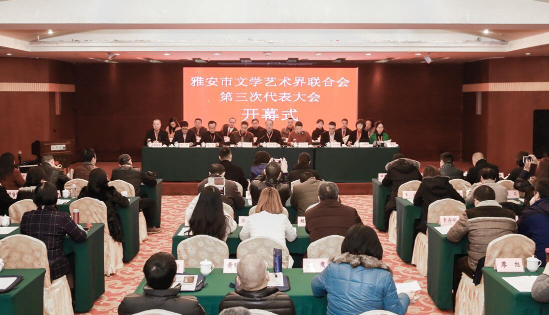 市文联第三次代表大会举行