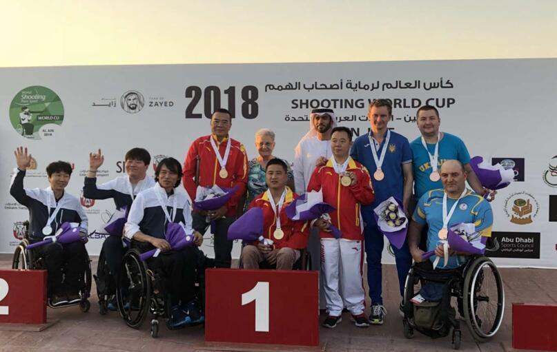 雅安人苟定超所在中国代表队夺得十米气步枪团体金牌