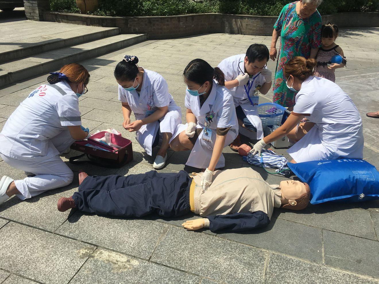 开展应急演练提升急诊急救能力