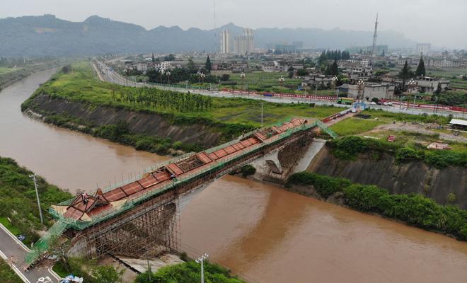 大兴滨江绿廊1号桥廊房预计10月1日前完工