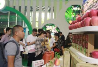 农博会上 雅安农产品受欢迎
