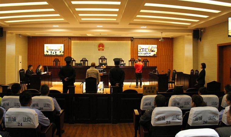 雨城区法院开庭审理一起危险驾驶案