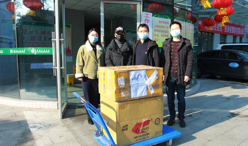 雅安一爱心人士向市医院捐赠800个N95口罩