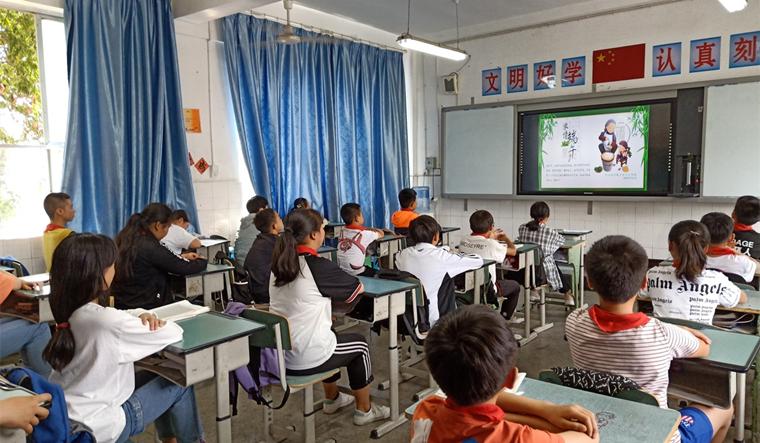 粽叶飘香迎端午  传统文化润校园