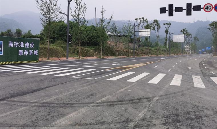 与多条道路无缝连接  贯穿主干交通网