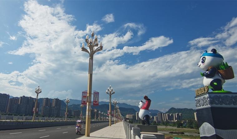 36个大熊猫雕塑将亮相大兴二桥