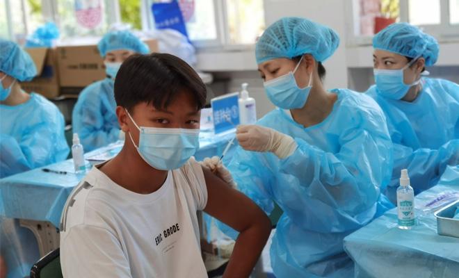 我市开启12-17周岁人群  新冠病毒疫苗接种工作